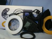 '   BOXED - CANON / NIKON DIGITAL ' LED MACRO / Portrait Ring Flash Outfit Boxed -MINT- £49.99